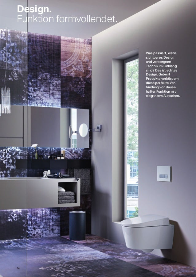 geberit mein neues bad 2015. Black Bedroom Furniture Sets. Home Design Ideas