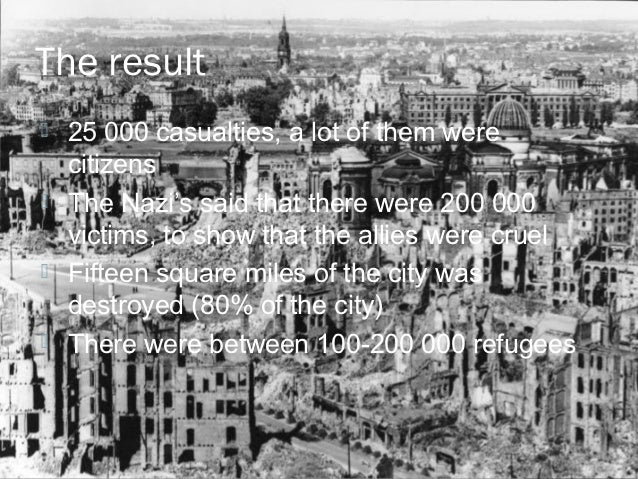 was the bombing of dresden and Victor gregg: as a prisoner of war held in dresden, i still suffer the memories of those terrible events and my anger refuses to subside.