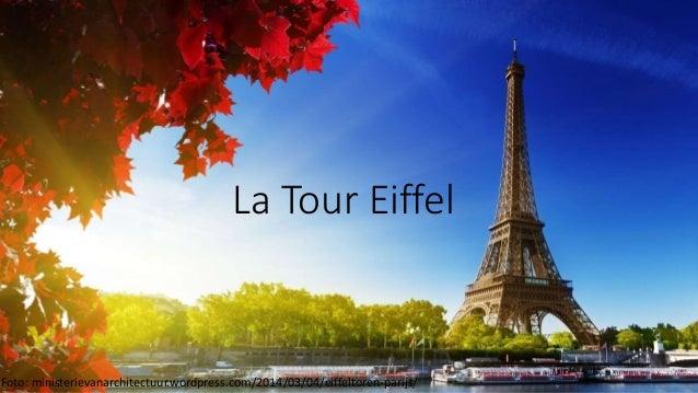 La tour eiffel informatiesessie - Tour eiffel dimension ...