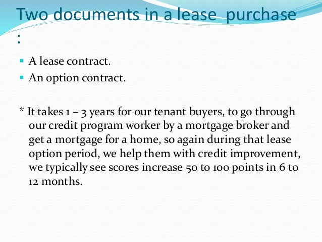 Why Rent To Own With Gold Eagle – Rent with Option to Buy Contract
