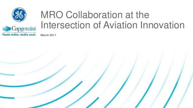 Collaboration Essential To Aviation Mro Innovation