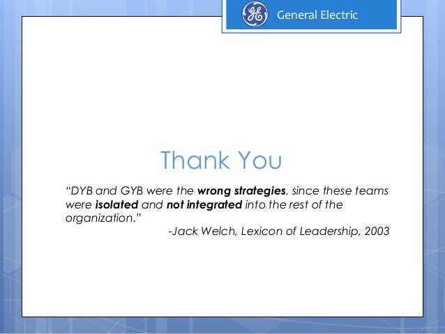 GE's Two-Decade Transformation