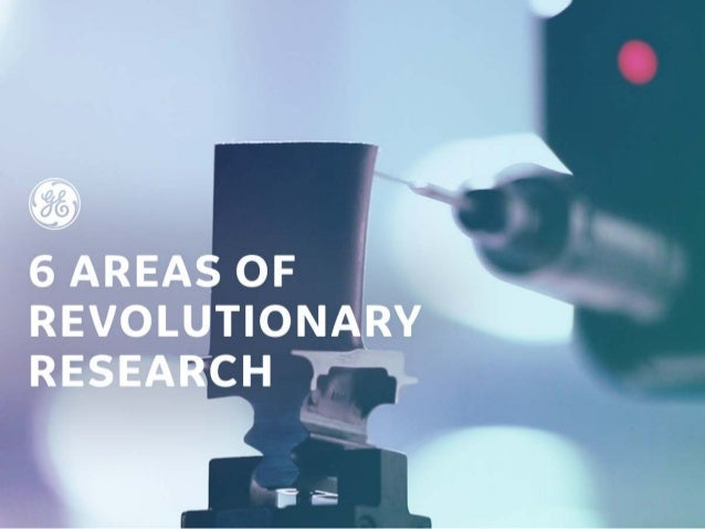 6 Areas Of Revolutionary Research