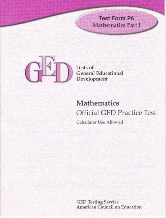Ged math-i