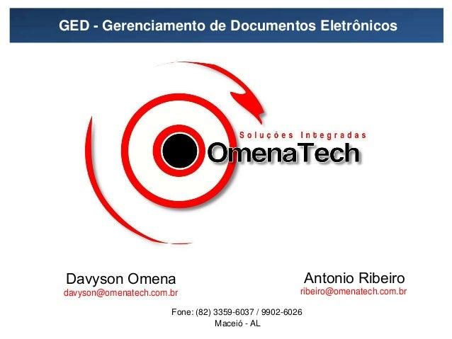 GED - Gerenciamento de Documentos Eletrônicos /        −