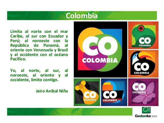 Limita al norte con el mar Caribe, al sur con Ecuador y Perú; al noroeste con la República de Panamá, al oriente con Venez...