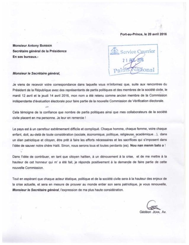 Commission De Vérification Lettre Responsive De Maitre