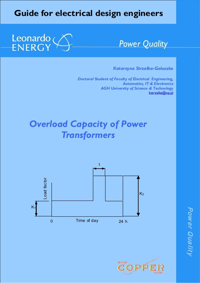 PowerQuality Guide for electrical design engineers Katarzyna Strzalka-Goluszka Doctoral Student of Faculty of Electrical E...