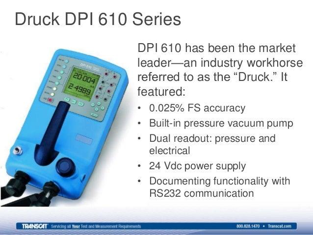 transcat presents the new ge druck dpi 611 pressure calibrator rh slideshare net 1200 X 600 DPI 600 Dpi Press