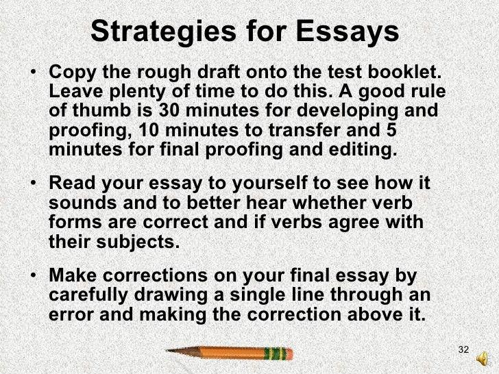 essay copying exams