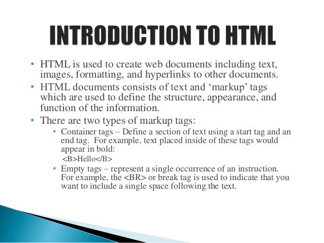 Html And Css Presentation
