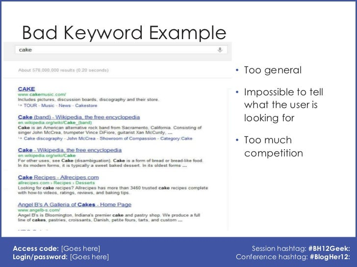 SEO: Keywords and Meta Data for Bloggers