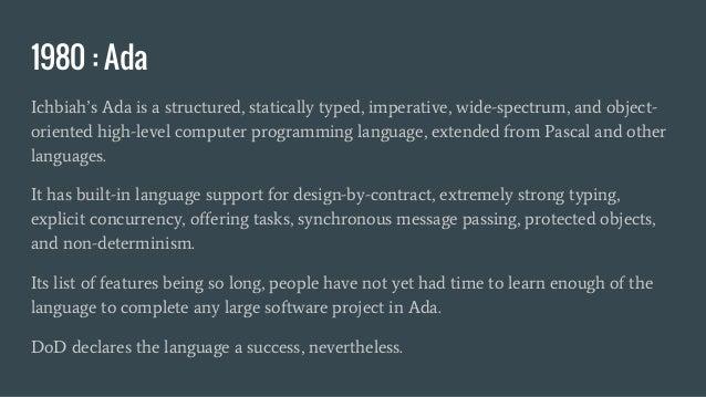 Geek Night 16 0 - Evolution of Programming Languages