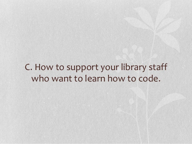 """LIBRARY WORK        """"IS""""TECHNOLOGY WORK         &    VICE VERSA."""