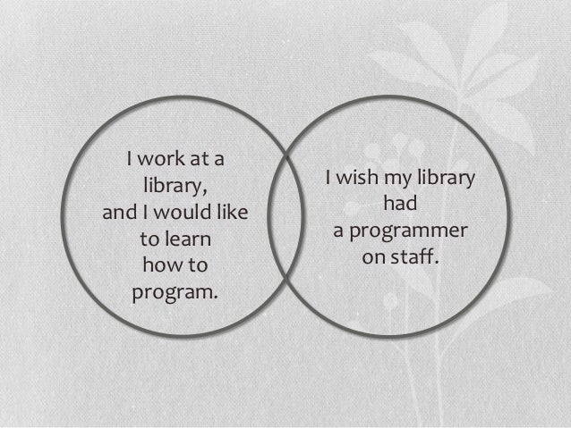 How to support the interested staff• Identify interested staff members.• Offer an opportunity to participate in a library ...