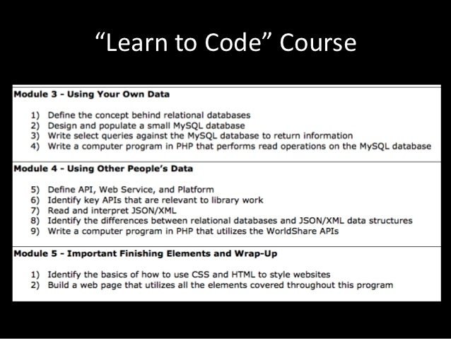 Geek out: Adding Coding Skills to Your Professional Repertoire