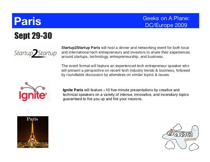 Paris                                                         Geeks on A Plane:                                           ...