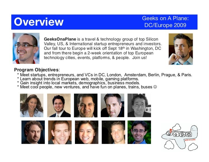 Overview                                                            Geeks on A Plane:                                     ...