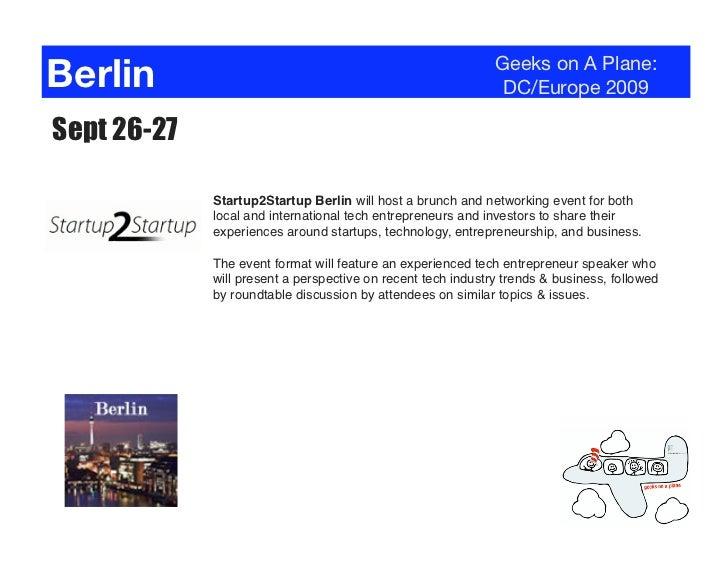 Berlin                                                        Geeks on A Plane:                                           ...