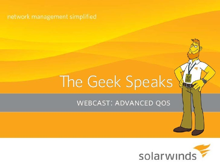 """Introduction  A big """"Howdy"""" from SolarWinds   based in Austin, Texas    » Josh Stephens - Head Geek, Monster Blogger,    ..."""