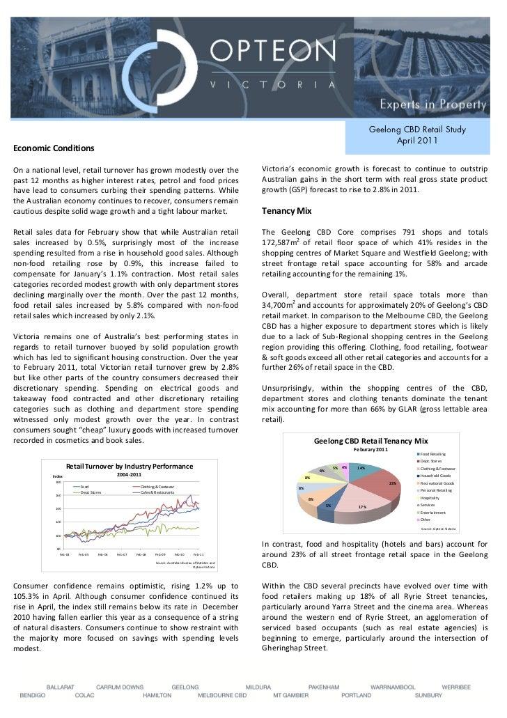 Geelong CBD Retail Study                                                                                                  ...