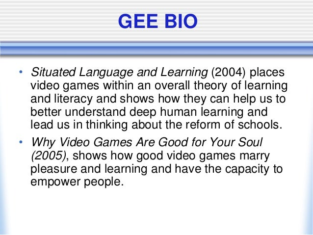 Good video games + good learning : collected essays on video games, learning, and literacy