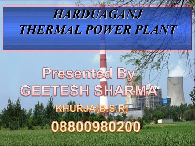 HARDUAGANJHARDUAGANJ THERMAL POWER PLANTTHERMAL POWER PLANT