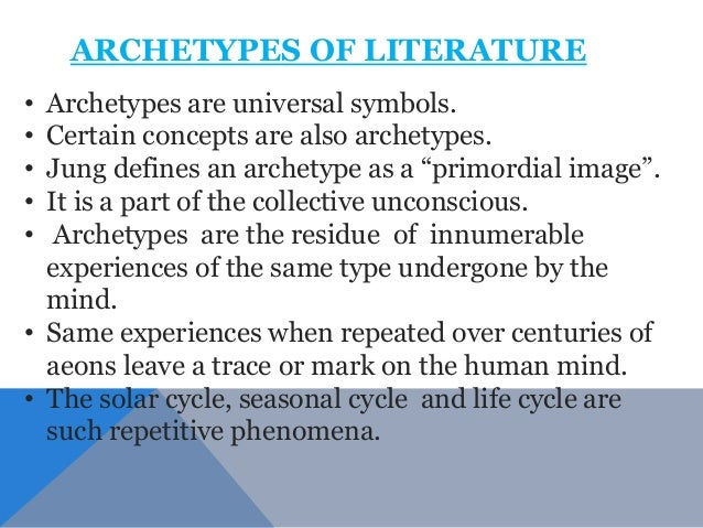Archetypes In Literature Essay Sample - image 11