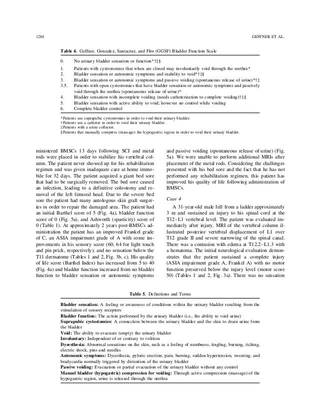 a case study of spinal cord Further investigation is needed to determine the benefit of spinal manipulation in patients with implanted spinal cord stimulators, but this study has shown the absence of and 23-12% of post-surgical patients receive chiropractic care [25 - 27] only case studies have been performed.