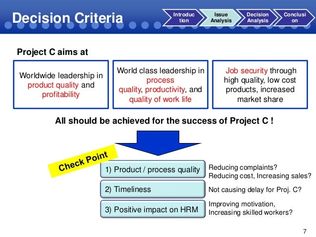 case study decisions decisions The case method of instruction calls for discussion of a situation faced by a  decision  obtain insight into the decision analysis of real life conditions the  case.