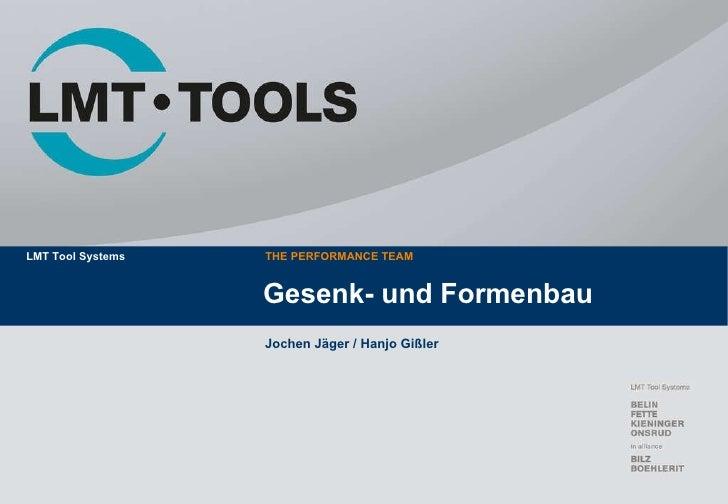 Gesenk- und Formenbau Jochen Jäger / Hanjo Gißler