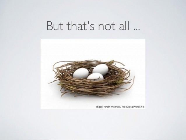 But that's not all ... Image: renjith krishnan / FreeDigitalPhotos.net