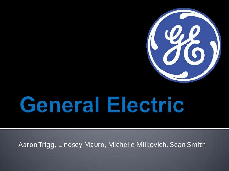 general electric presentation, Templates