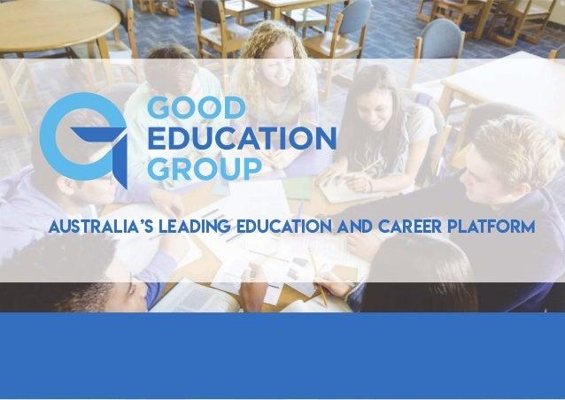 Australia's leading education and career platform