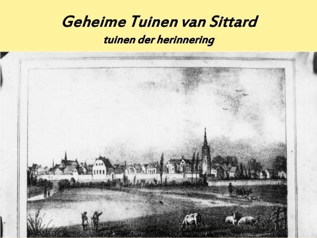 Geheime Tuinen van Sittard     tuinen der herinnering                              1