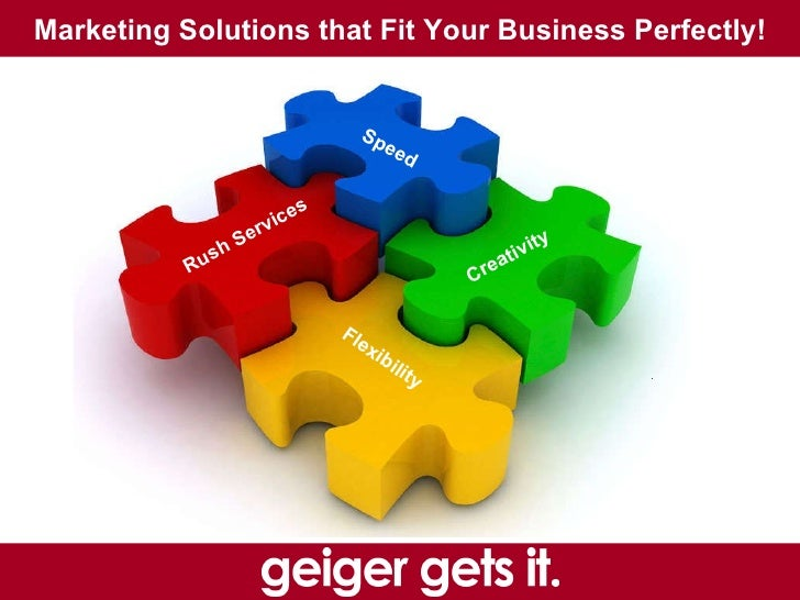 Marketing Solutions that Fit Your Business Perfectly!