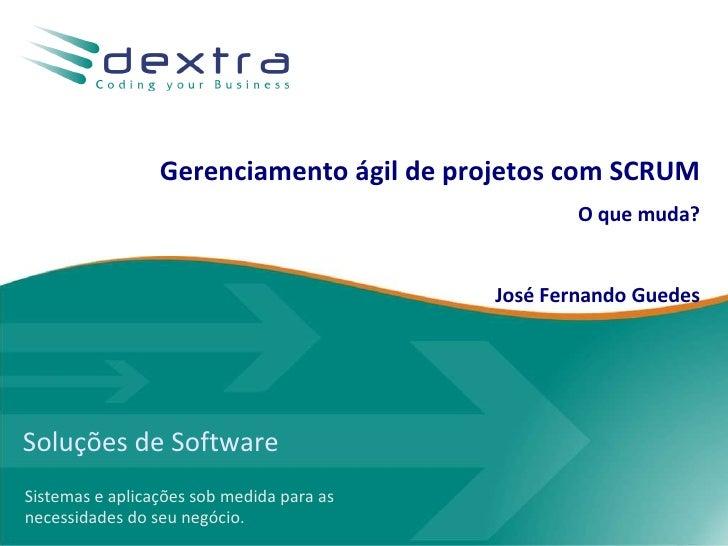 Soluções de Software Sistemas e aplicações sob medida para as necessidades do seu negócio. Gerenciamento ágil de projetos ...