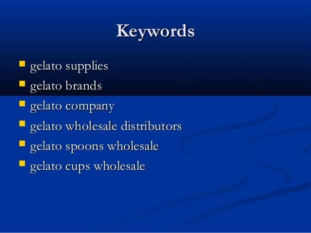 Gelato Company Slide 3