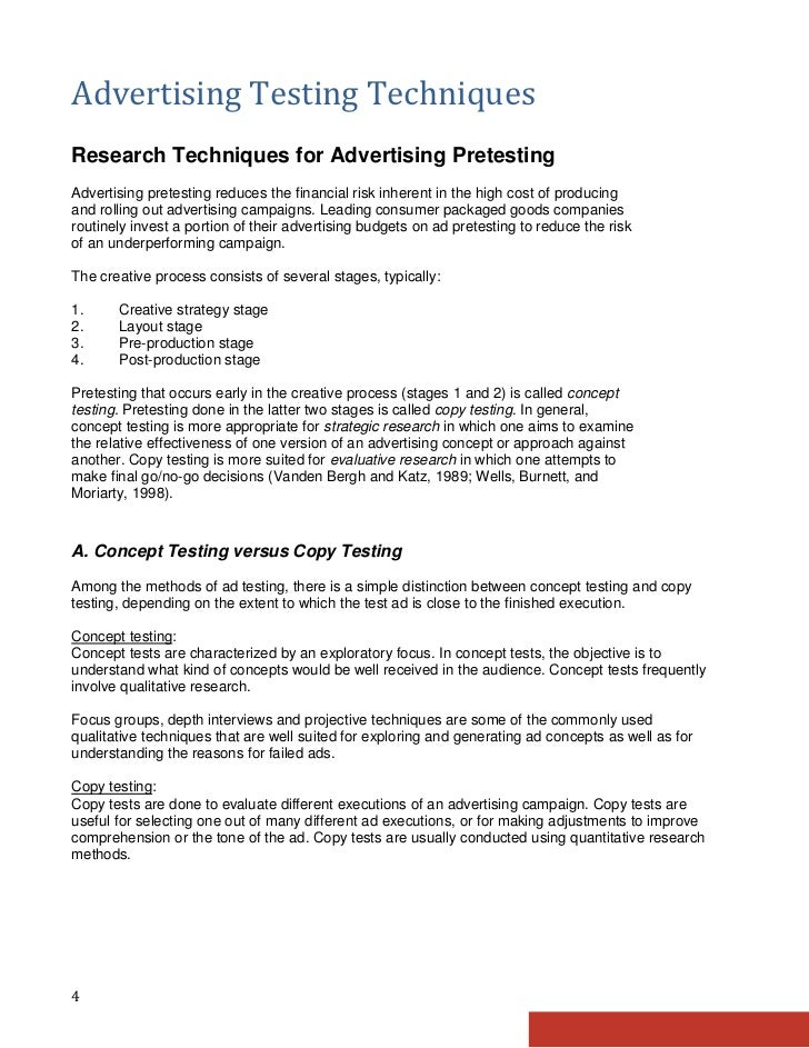 techniques of research paper Overview of psychology research methods - this article describes the most commonly used research methods in the field of psychology and gives a more in-depth look at specific quantitative research methods often utilized.