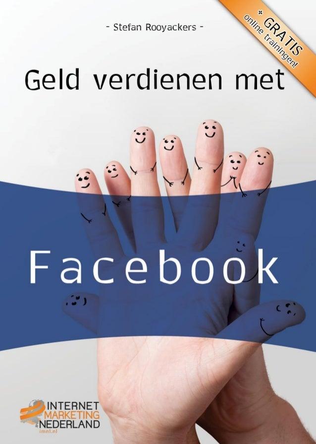 Stefan RooyackersGeld verdienen met...Netwerken en netwerken via Facebook                                      1