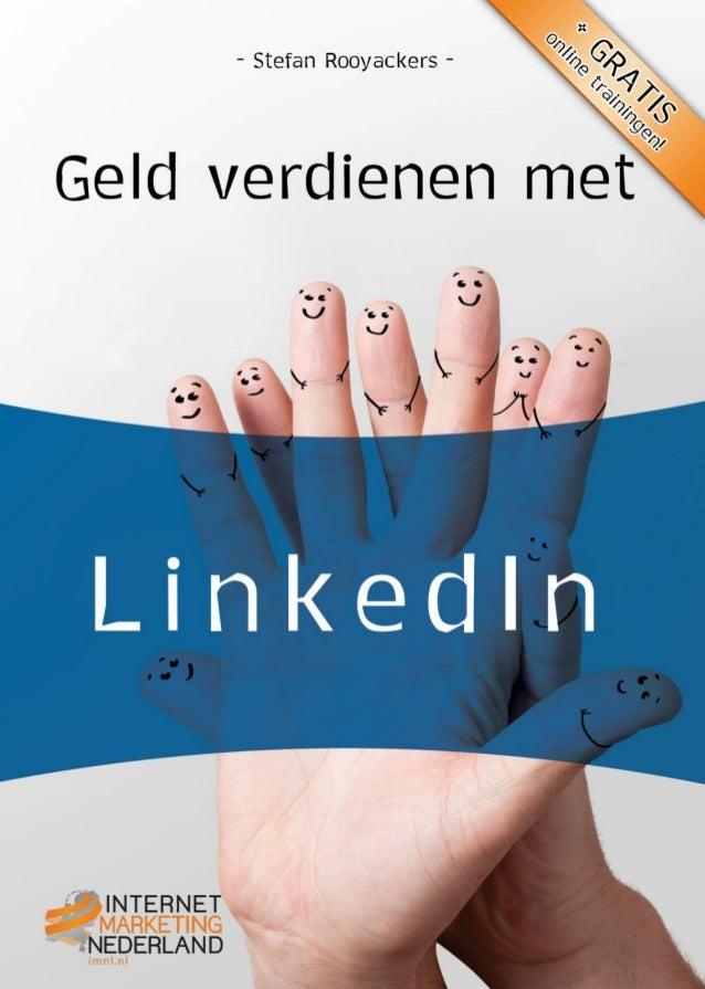 Stefan RooyackersGeld verdienen met...Netwerken en netwerken via LinkedIn                                      1