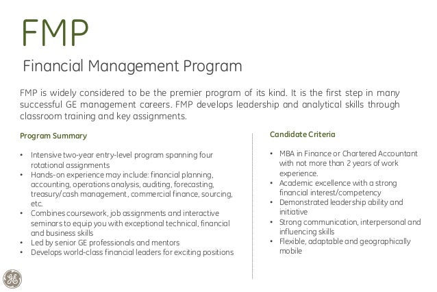 cover letter for ge fmp program