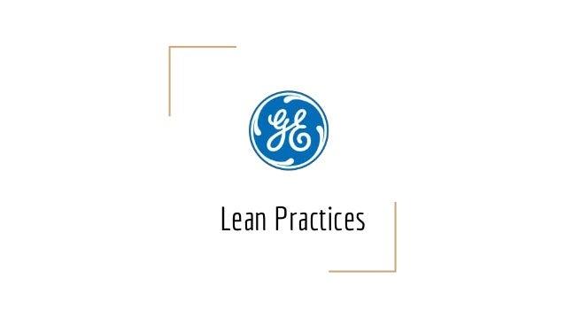 Lean Practices