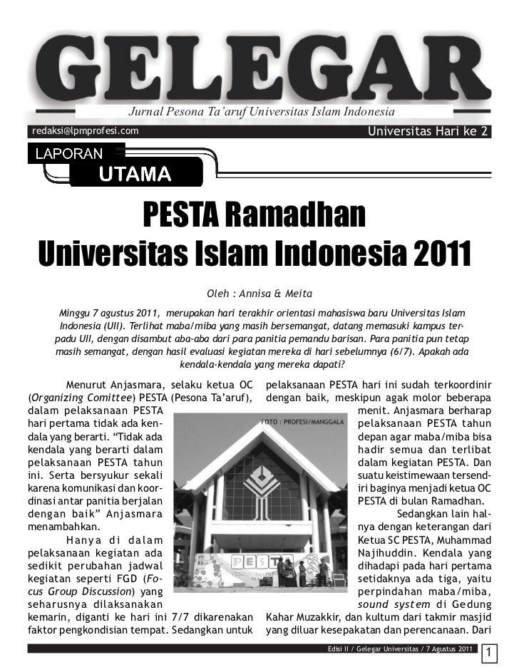 Jurnal Pesona Ta'aruf Universitas Islam Indonesiaredaksi@lpmprofesi.com                                                   ...