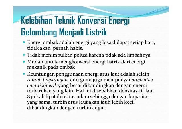 Energi Terbarukan Gelombang Laut