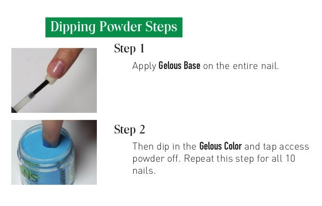 Apply Gelous Base On The Entire Nail