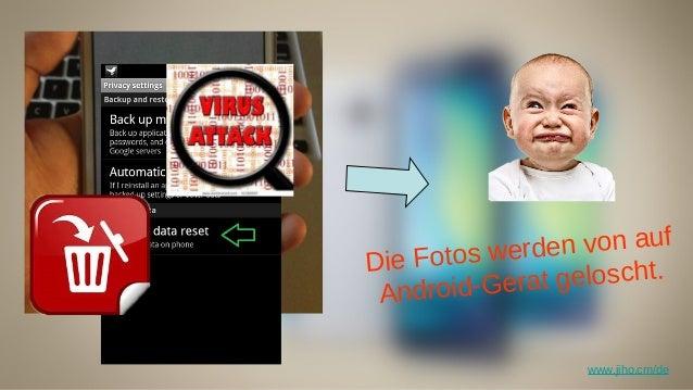 Kann ich gelöschte Bilder und Videos auf Android-Geräte wiederherstellen Slide 3