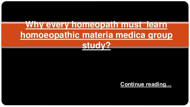 Homeopathic Study Group - m.facebook.com