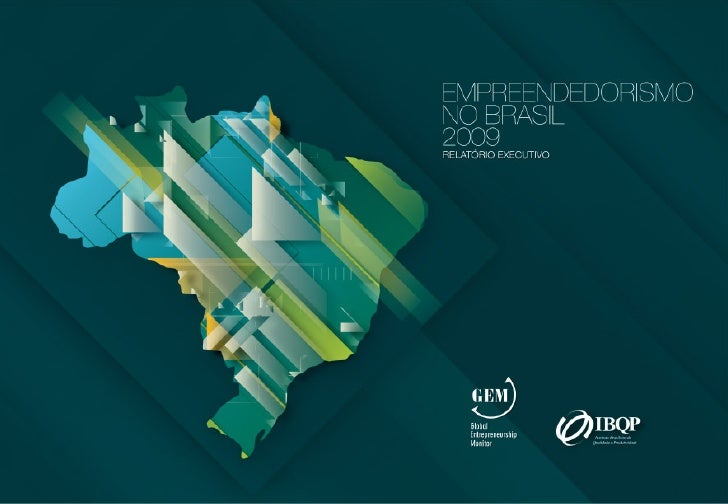 empreendedorismo no brasil 2009     PATROCÍNIO                                                    1