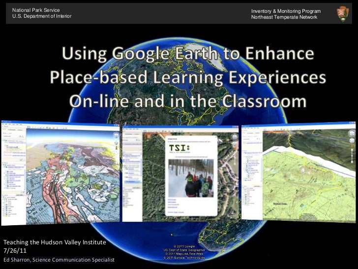 Using Google Earth To Create Placebased Learning Experiences Online - Google earth online